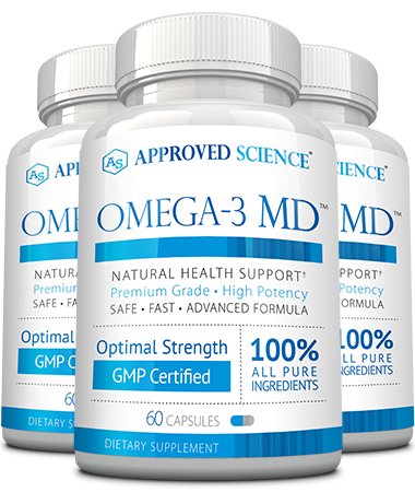Omega-3 MD Main Bottle